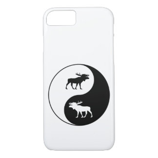 Yin Yang Moose iPhone 7 Case