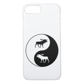 Yin Yang Moose iPhone 8/7 Case