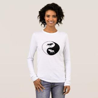 Yin Yang Moose Long Sleeve T-Shirt