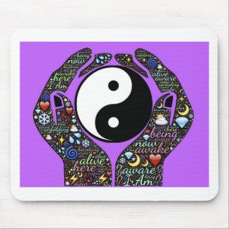 Yin, Yang Mouse Pad