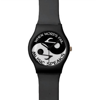 Yin yang music watch