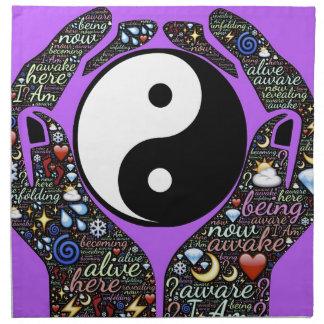 Yin, Yang Napkin