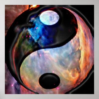 Yin Yang Nebula Poster