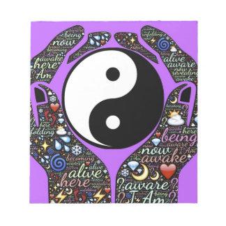 Yin, Yang Notepad