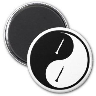 Yin Yang Oboe Magnet