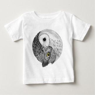 Yin Yang Owls Baby T-Shirt
