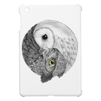 Yin Yang Owls iPad Mini Cases