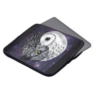 Yin Yang Owls Laptop Sleeve