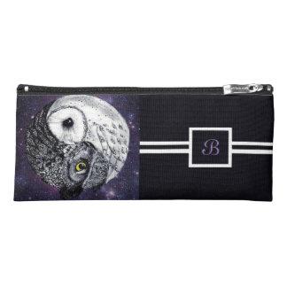 Yin Yang Owls Pencil Case