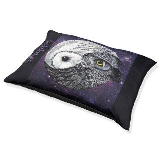 Yin Yang Owls Pet Bed