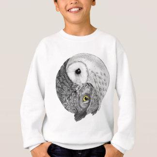Yin Yang Owls Sweatshirt