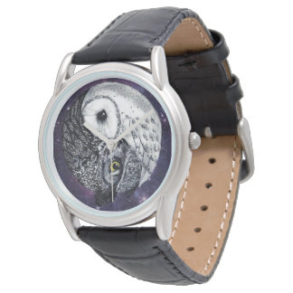 Yin Yang Owls Watch