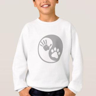 Yin Yang Paw Hand Great Gift Sweatshirt