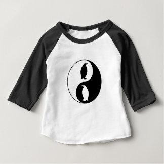 Yin Yang Penguin Baby T-Shirt