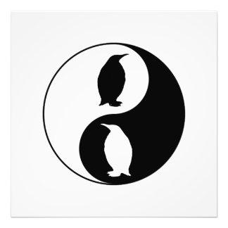 Yin Yang Penguin Photo Art