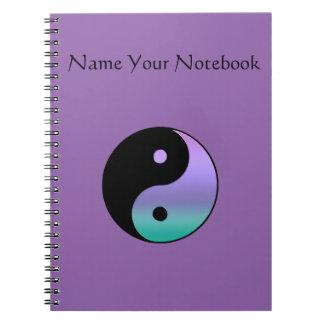 Yin-Yang Personalized Notebook, Notebook