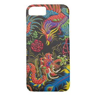 Yin Yang Phoenix and Dragon iPhone 7 Case