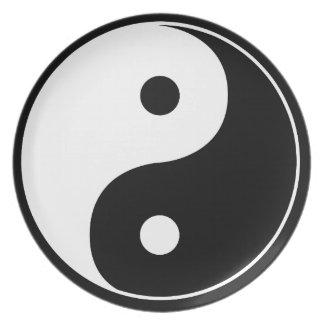Yin Yang Plates
