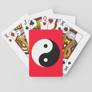"""YIN YANG"" PLAYING CARDS"