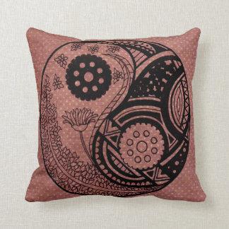 Yin-Yang Poly Pillow