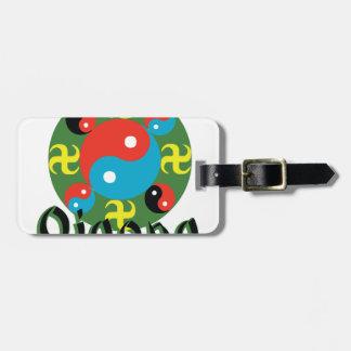 Yin Yang Qigong Luggage Tag