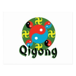 Yin Yang Qigong Postcard