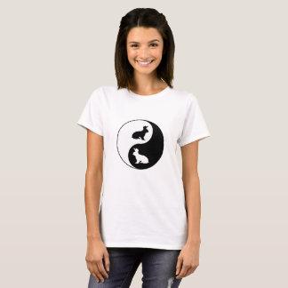 Yin Yang Rabbits T-Shirt