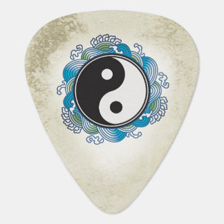 Yin Yang Retro Guitar Pick Plectrum