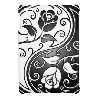 Yin Yang Roses iPad Mini Cover
