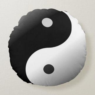 Yin Yang Round Pillow