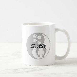 yin yang scottie coffee mug