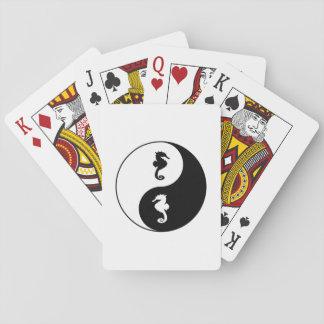 Yin Yang Seahorse Playing Cards