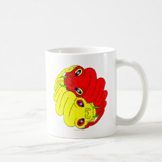 Yin Yang Snakes Coffee Mug