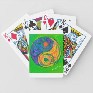 Yin Yang Spring Bicycle Playing Cards