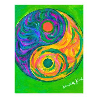 Yin Yang Spring Letterhead
