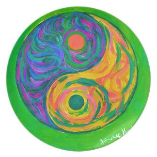 Yin Yang Spring Plate