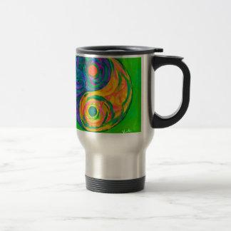 Yin Yang Spring Travel Mug