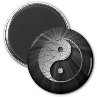 Yin Yang Starburst Publication1 2 Inch Round Magnet