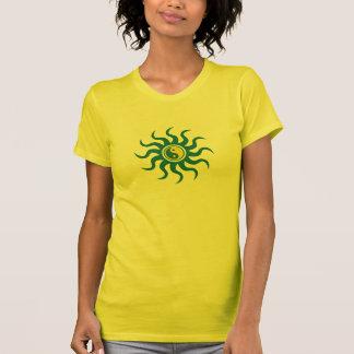 Yin-Yang Sun-Blue T-Shirt