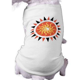 Yin yang sunshine doggie t-shirt