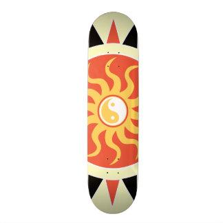 Yin yang sunshine skate board decks