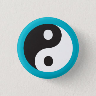 Yin Yang symbol 1 Inch Round Button