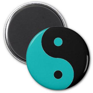 YIN YANG Symbol 2 Inch Round Magnet