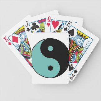 YIN YANG Symbol Bicycle Playing Cards