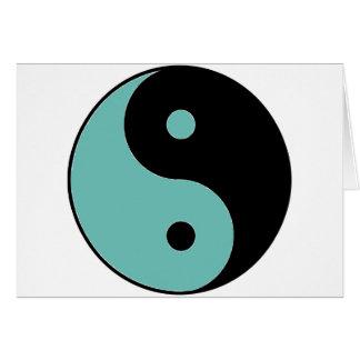 YIN YANG Symbol Card