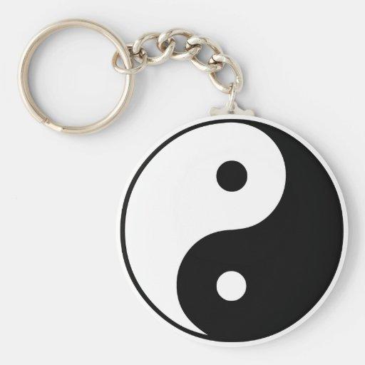 Yin Yang Symbol: Key Chains