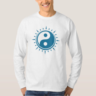 Yin Yang Symbol Men's Long Sleeved T-Shirt