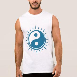 Yin Yang Symbol Men's Sleeveless T-Shirt