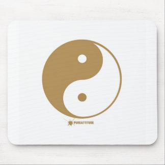 Yin Yang Symbol Mouse Pad