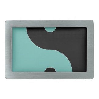 YIN YANG Symbol Rectangular Belt Buckle